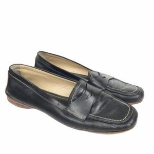 Coach Shari Leather Penny Loafer 9